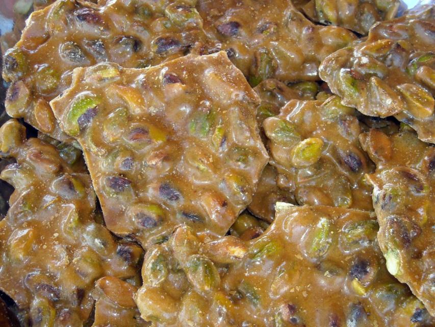 Brittle, 1 Lb Hand made, Brittle, Pistachio Brittle, Chocolate Brittle ...
